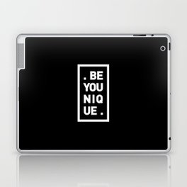 YOU AND YOURSELF (BLK) Laptop & iPad Skin