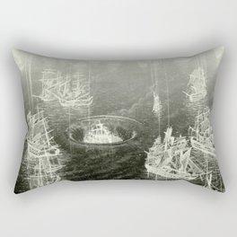 """Fog Bank"" Rectangular Pillow"