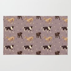 Rescue Dogs Pattern Rug