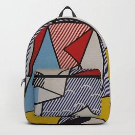 A vectorised Lichtenstein Backpack