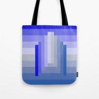 spaceship Tote Bags featuring Spaceship by Cs025