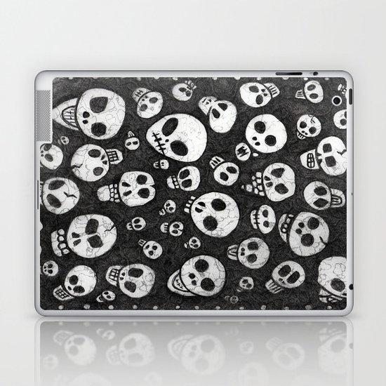 Skulls - Many Skulls Laptop & iPad Skin