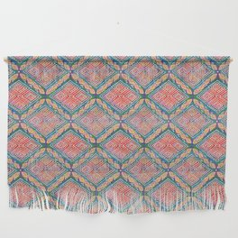 Mud Cloth Ankara Inspired Boho African | Cherie's Art Wall Hanging