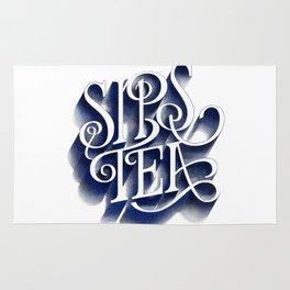 Sips Tea Rug