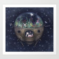 Space Home Art Print