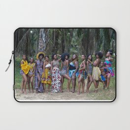 Liberian girl magic Laptop Sleeve