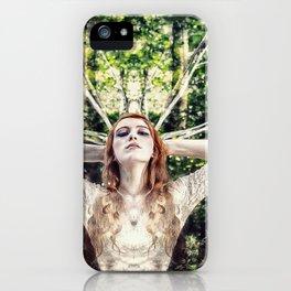 Her Self-Coronation iPhone Case