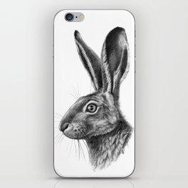 Hare profile G138 iPhone Skin