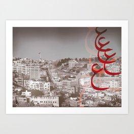 Amman City Art Print