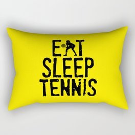 Eat Sleep Tennis Rectangular Pillow