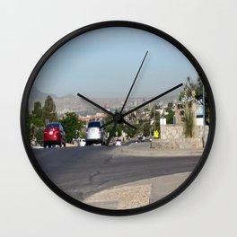 Western City Wall Clock