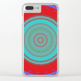 Some Other Mandala 52 Clear iPhone Case