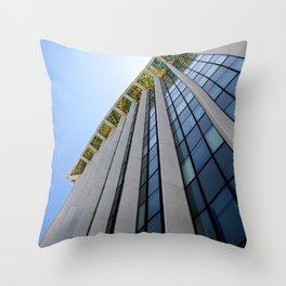 Dalle de verre Throw Pillow