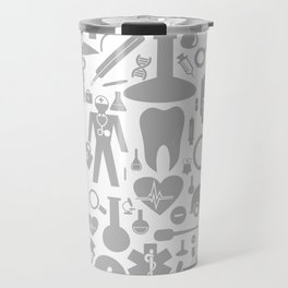 Medical background Travel Mug