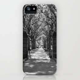 McKeldin Mall at Maryland iPhone Case