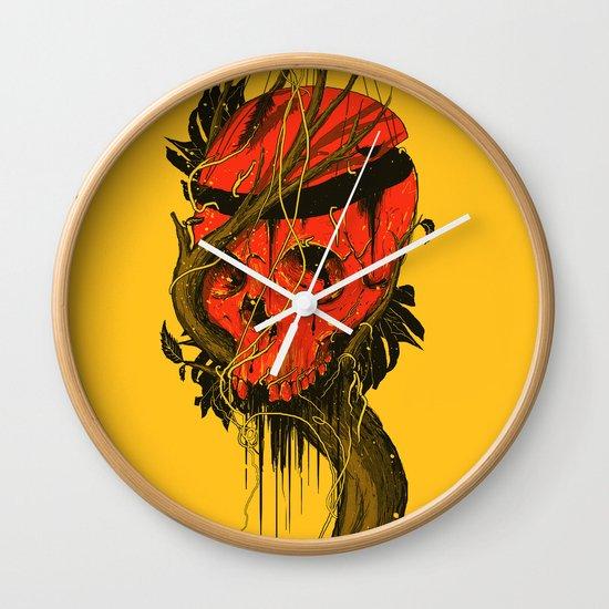 Nameless Hero Wall Clock