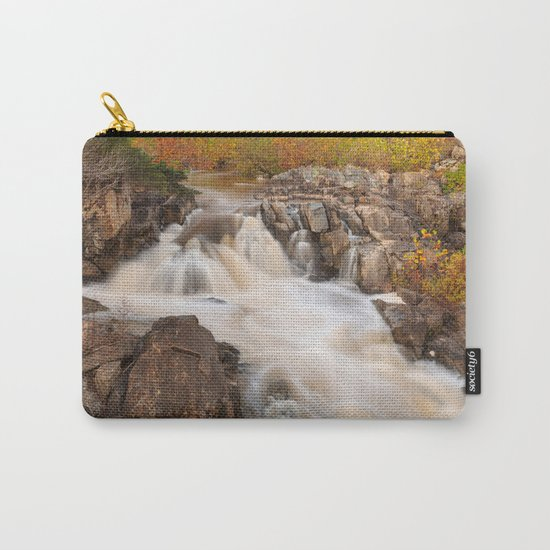 Great Falls Autumn Cascades Carry-All Pouch