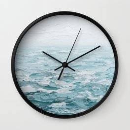 Foggy Seas No. 2 Wall Clock