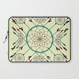 Dream Catching Dream Catcher Native American Style Art Laptop Sleeve
