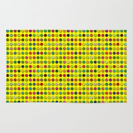 Multi-coloured Pills Pattern Rug