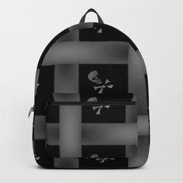 Skull Pattern Backpack