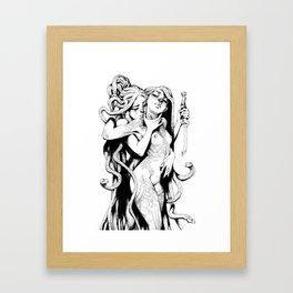 The vow Framed Art Print