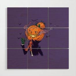 The Pumpkin Bun Wood Wall Art