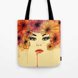 Sands of Time girl Tote Bag