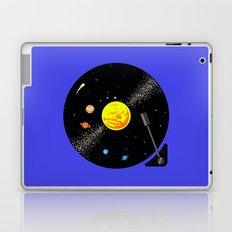 Solar System Vinyl Record Laptop & iPad Skin