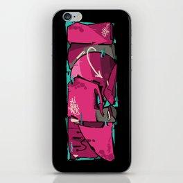 IRON iPhone Skin