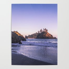 The Cove At Sunset Poster