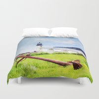 maine Duvet Covers featuring Beautiful Maine by ThePhotoGuyDarren