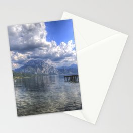 Traunsee Lake Altmunster Austria Stationery Cards