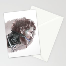 Will Graham in a collar Stationery Cards