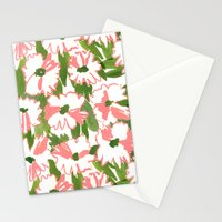 August Floral Stationery Cards