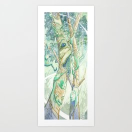 The Bumi Tree Sprites Art Print