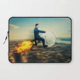 bulb rocket Laptop Sleeve