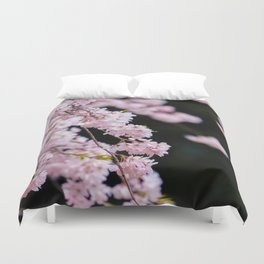 Japanese Cherry Blossoms Duvet Cover