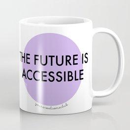 The Future is Accessible - Purple Coffee Mug