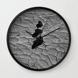 Three rocks Wall Clock