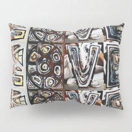 LOVE - Magazine Collage Pillow Sham