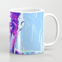 blade runner Mugs featuring ROY BATTY // BLADE RUNNER by mergedvisible