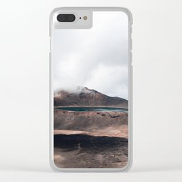 Volcanic Crater Turned Into A Lake Clear iPhone Case