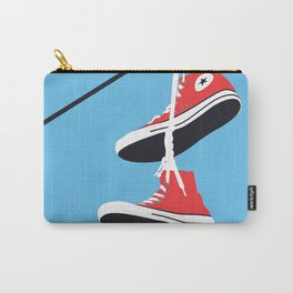 Sneakers on the Wire Carry-All Pouch