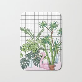 room plants Bath Mat
