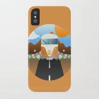 van iPhone & iPod Cases featuring Love Van by Moremo