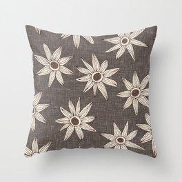 sema granite brown Throw Pillow