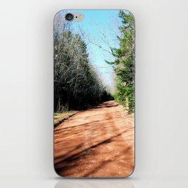 Dirt road  iPhone Skin