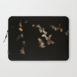 I Am Building A Forest- Paper Butterfly Installation Detail Laptop Sleeve
