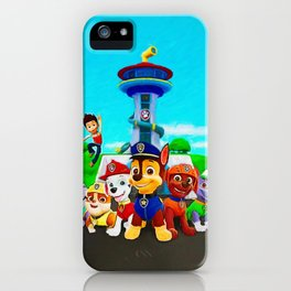 Paw Patrol iPhone Case